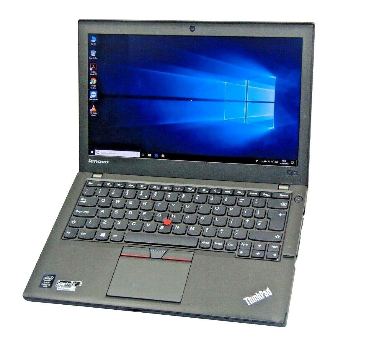 Core I5 5th Gen 2 3ghz 120gb Ssd 8gb Laptop Lenovo Thinkpad X250 12 5 Notebook Lenovo Thinkpad Lenovo Ssd