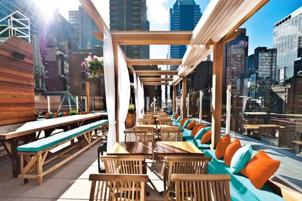 Haven Rooftop Restaurant Am Times Square New York