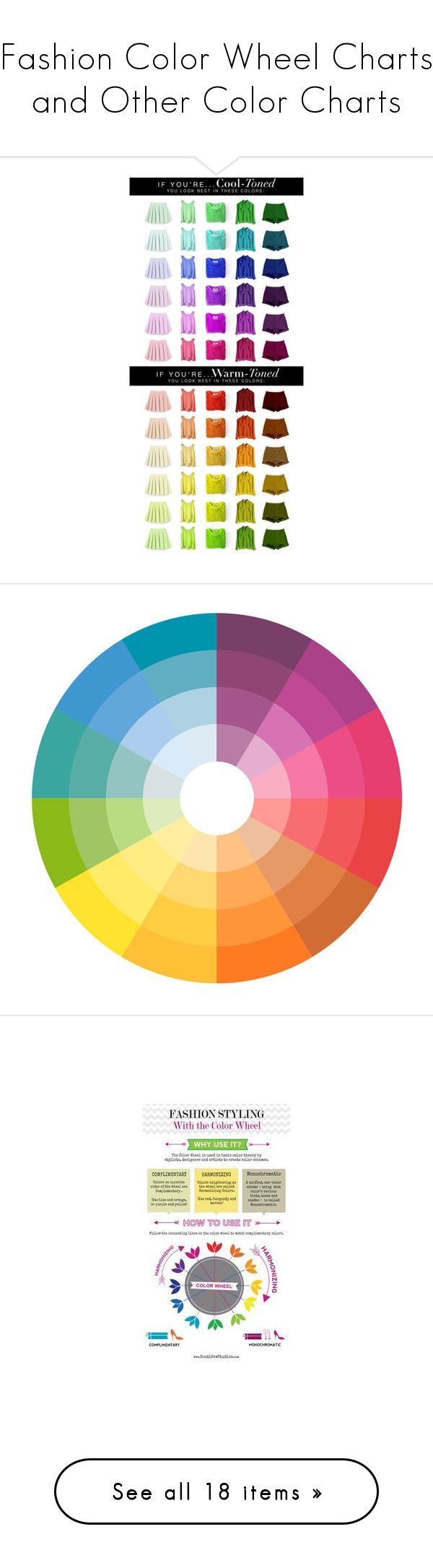Fashion Color Wheel Charts And Other Color Charts By Mimi1207
