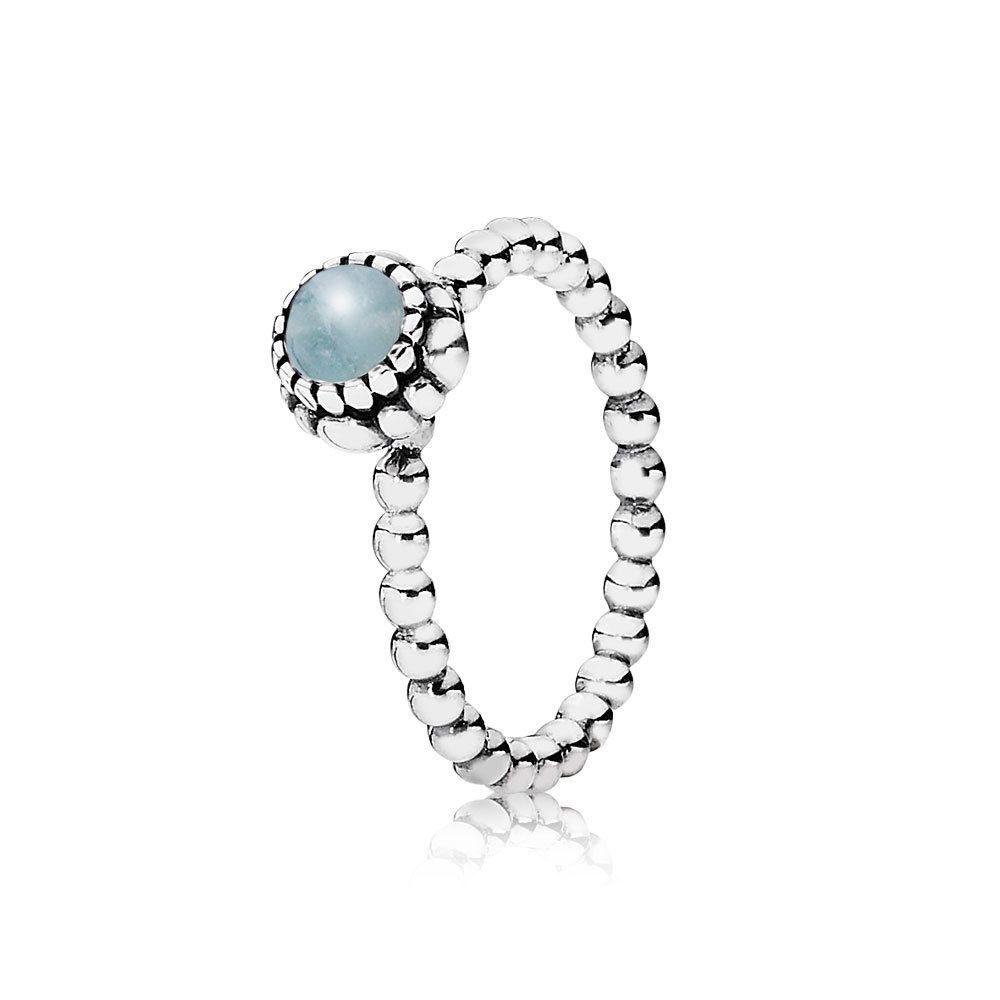 Pandora Birthday Blooms March Aquamarine September Birthstone Rings Pandora Birthstone Rings December Birthstone Ring