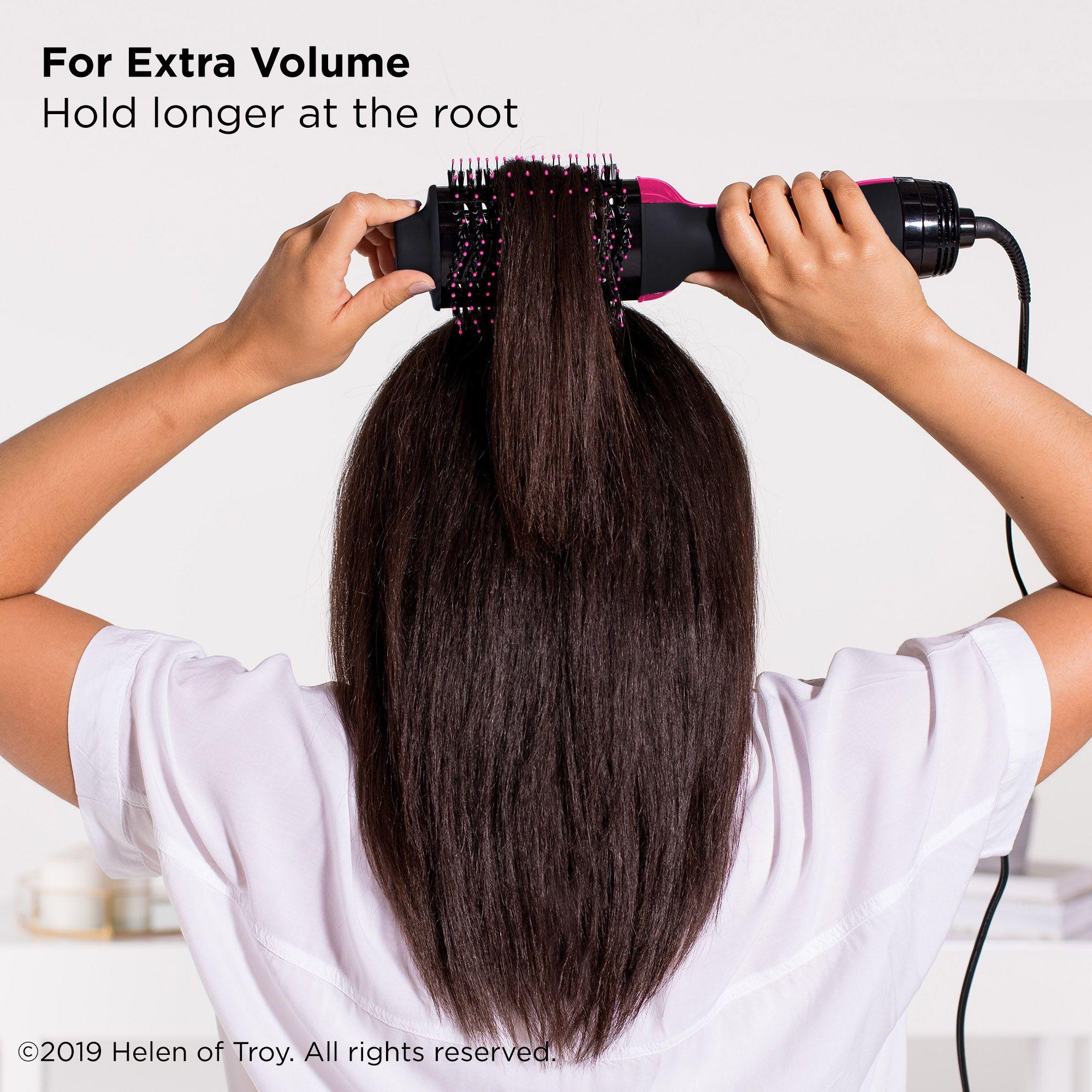 Revlon One Step Volumizer Hair Dryer And Hot Air Brush Black Walmart Com Revlon Hair Dryer Best Hair Dryer Revlon Hair Dryer Brush