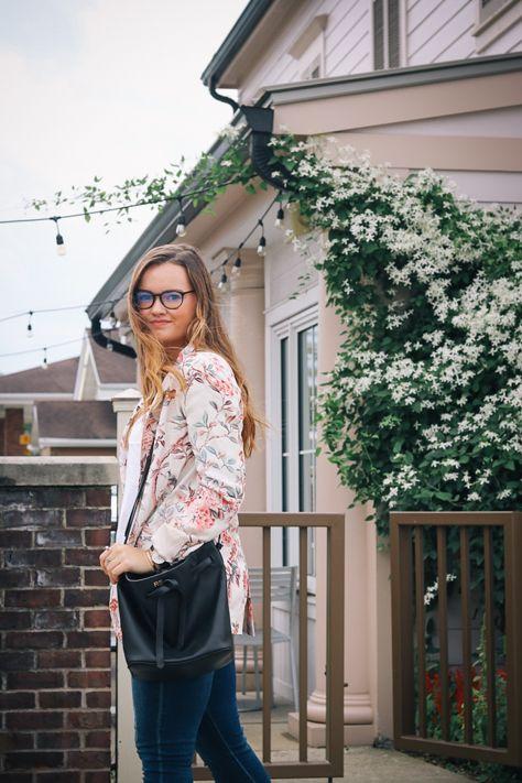 My go to Study tricks wearing Zara Floral Blazer