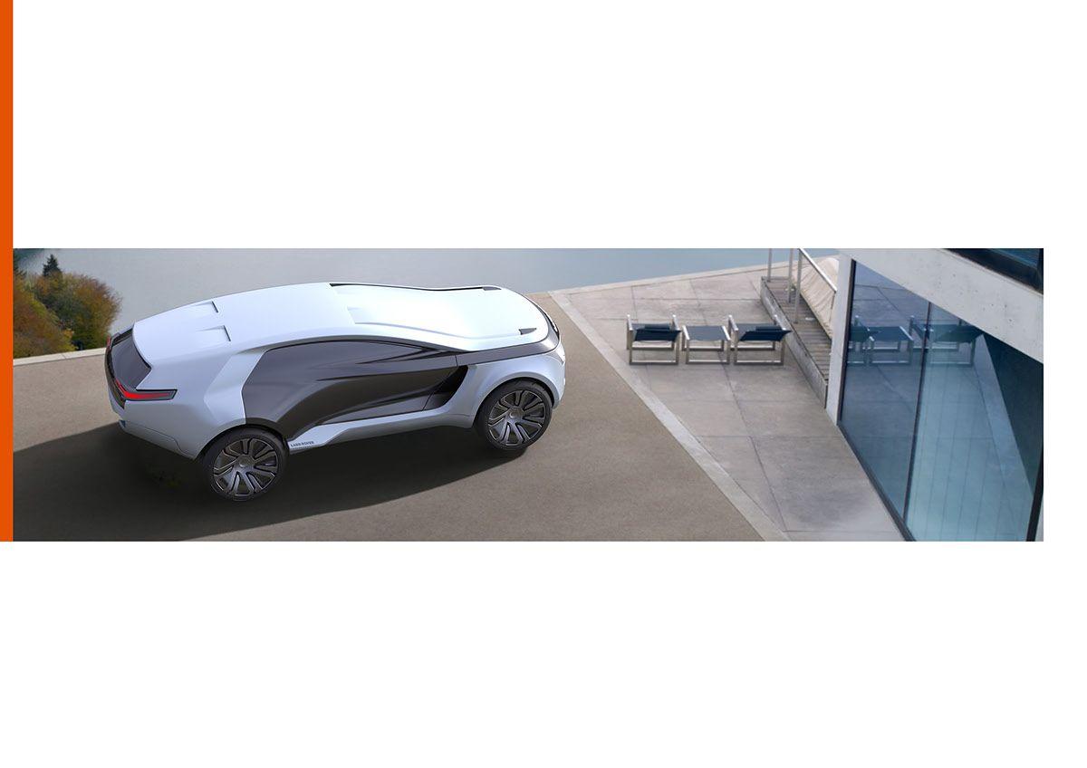 Land Rover - Aegis on Behance