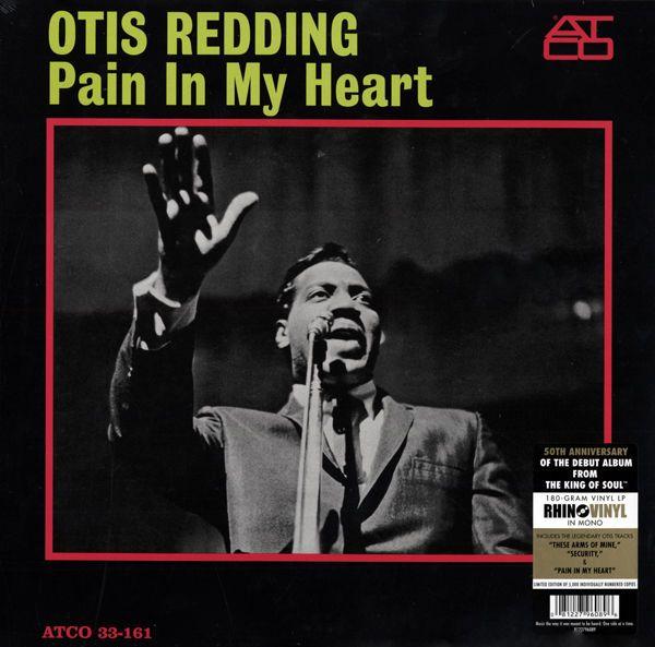 Redding, Otis - Pain In My Heart 50th Anniversary 180g Vinyl - Limited Editio...
