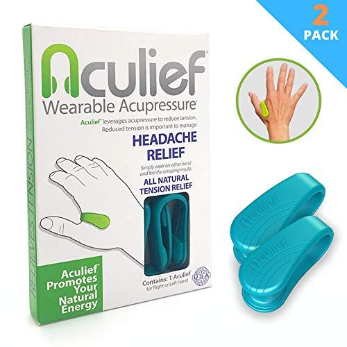 Aculief - Award Winning Natural Headache, Migraine and Te ...
