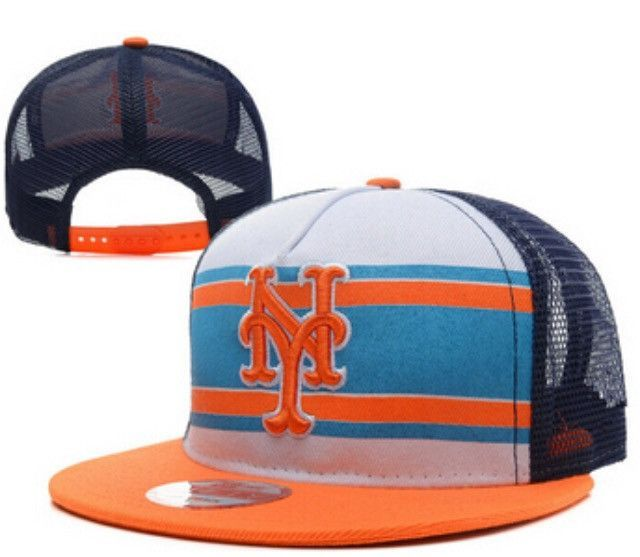 New York Mets Mesh Snapback Hat Shop d5f75b9583