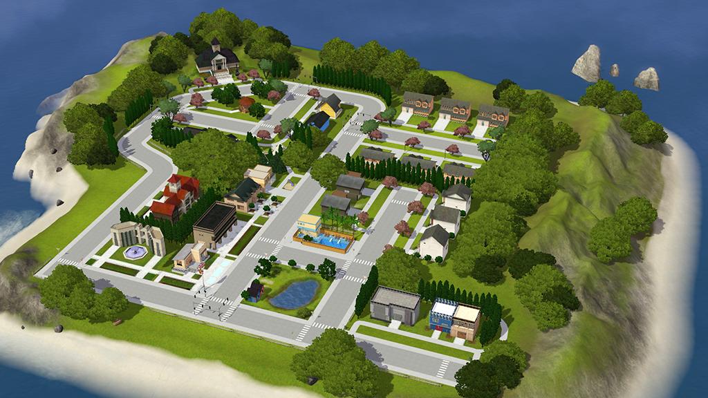 Riinsims :: TS3 | Quaintcoast Beta 1 0 SAVE FILE | Sims 3