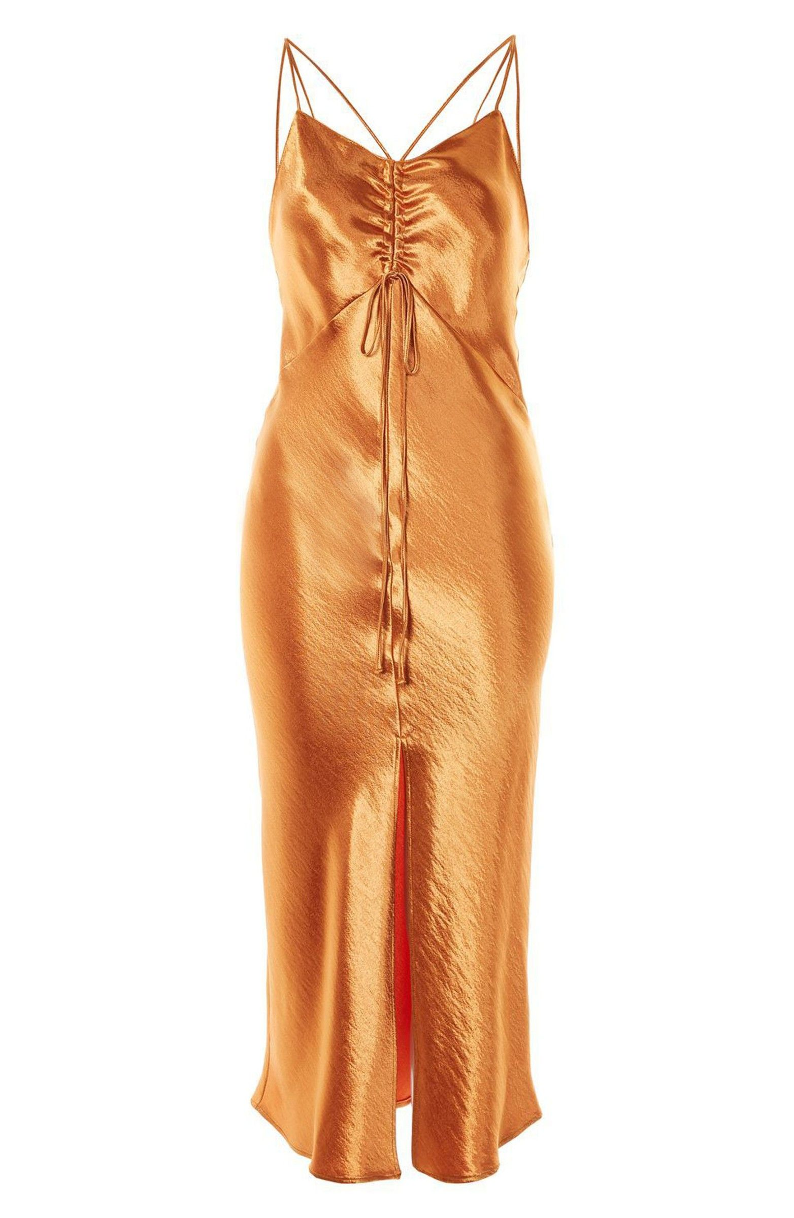 cdd0758ffd166 Main Image - Topshop Strappy Satin Slipdress $125 | What I Want ...