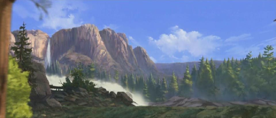 Background From Spirit Stallion Of The Cimarron My Fantasy World Landscape Disney And Dreamworks