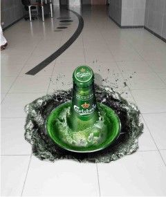 Sprite Tickles Your Taste Buds With A Refreshing Floor Decal