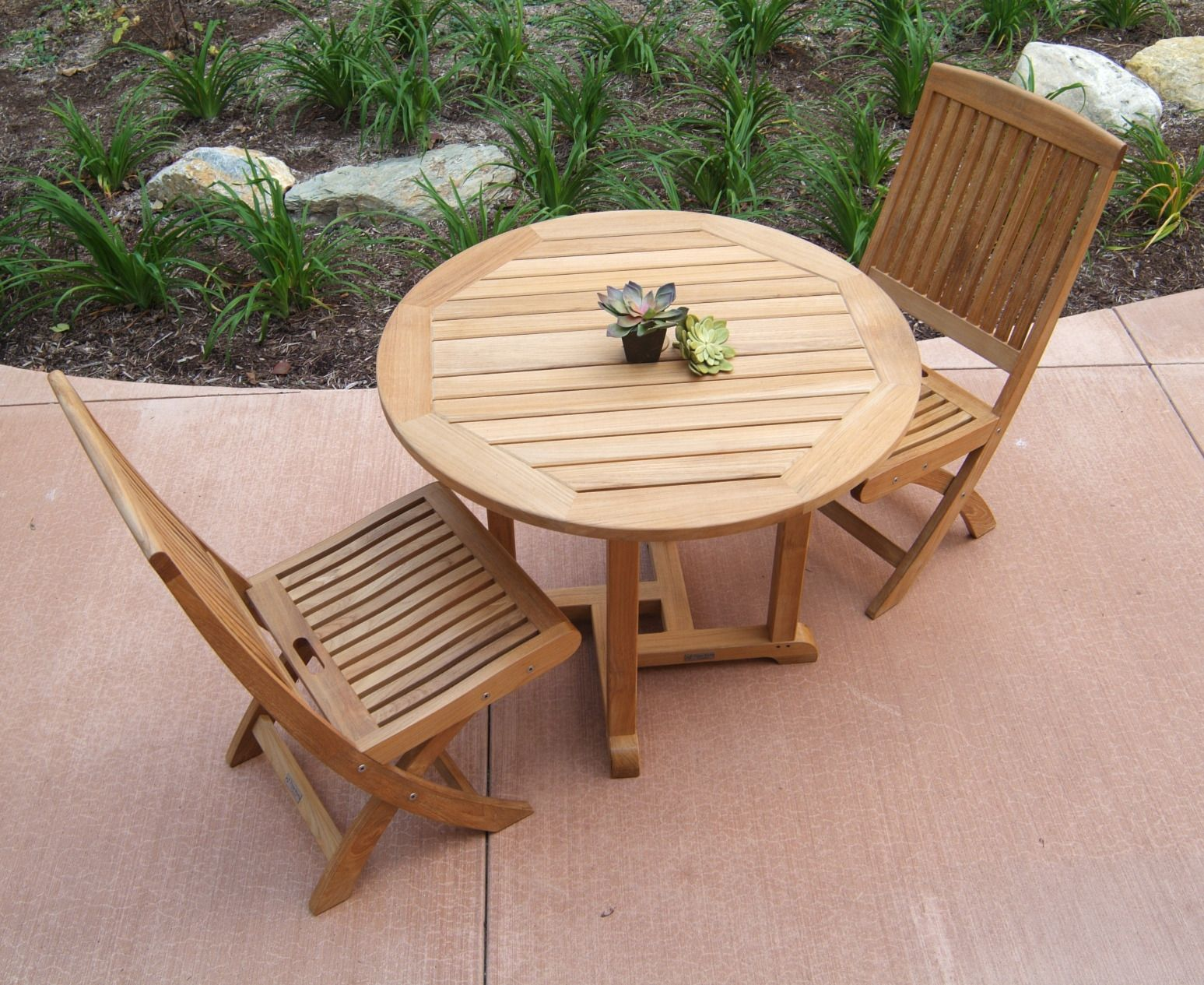 Round Teak Patio Table Best Home Office Furniture Check More - Round teak patio table and chairs