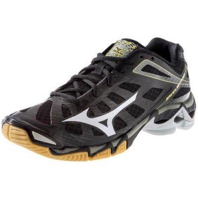 2a20fe7ec2 Tênis Mizuno Men s Wave Lightning RX3 Volleyball Shoe Black Silver  Tênis   Mizuno