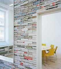 Resultado de imagem para decoracao com revistas