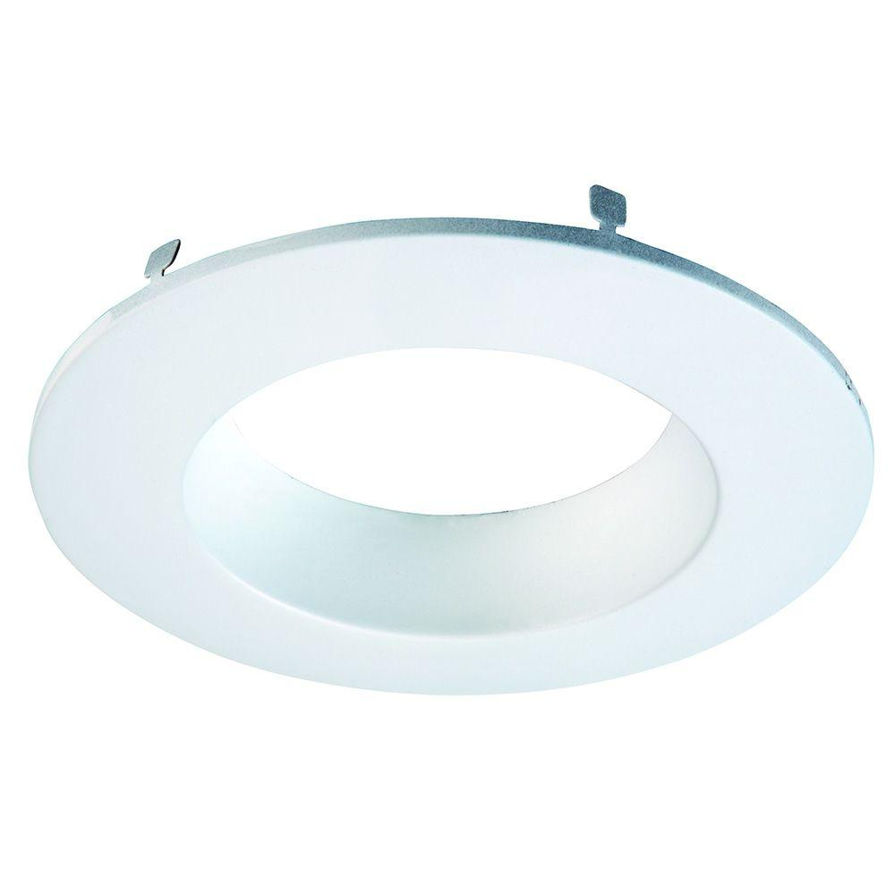 Recessed Lighting Trim Rings Halo Rl 5 Inand 6 Inwhite Primed Recessed Lighting Retrofit
