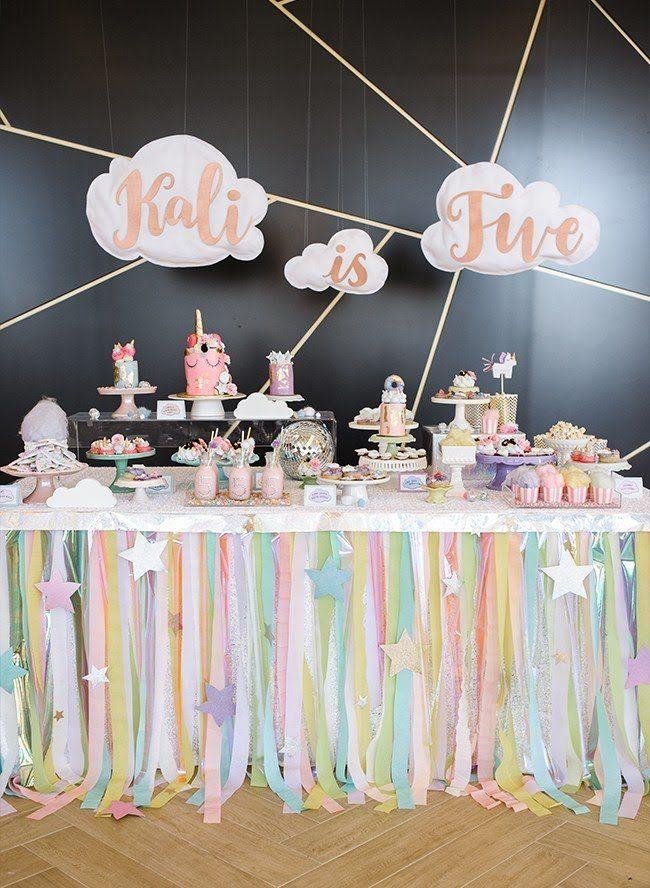 20 Unicorn Theme Party Ideas