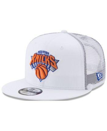 sports shoes 12969 9b058 ... good new era new york knicks summer time mesh 9fifty snapback cap white  adjustable 7137c 014c7