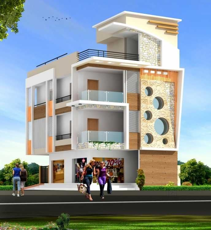 Modern House Front Elevation Designs: House Design, House