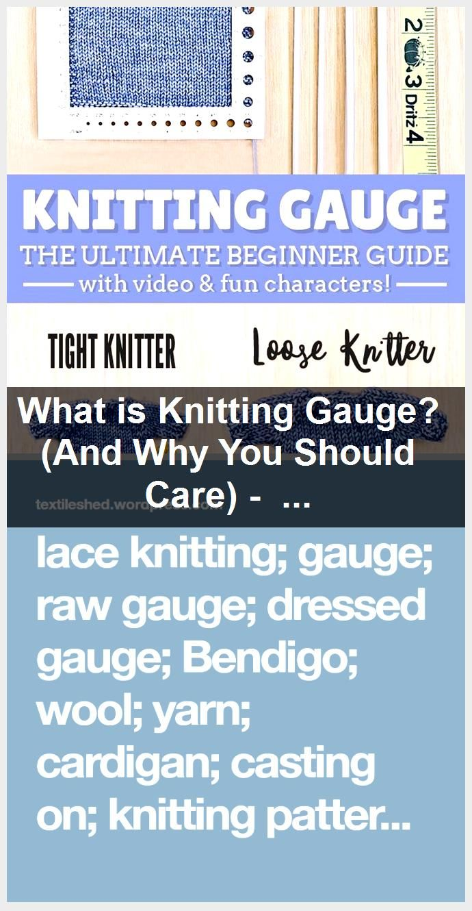 What is Knitting Gauge And Why You Should Care  Sheep and Stitch What is Knitting Gauge And Why You Should Care  Sheep and Stitch