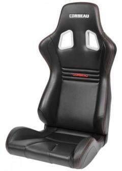Corbeau Sportline Evolution X Fixed Back Seat Northstar Motorsport Carbon Fiber Vinyl Back Seat Sport Seats