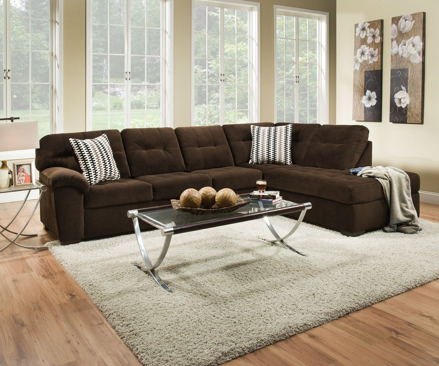 Universal Bernie Iva Sectional Las Vegas Furniture Online Lasvegasfurnitureonline