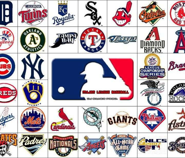 Mlb Logos Baseball Teams Logo Major League Baseball Logo Major League Baseball Teams