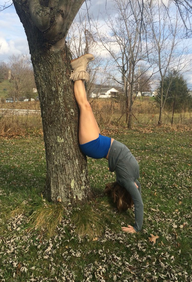 Practicing my upside down poses. This is my fave.