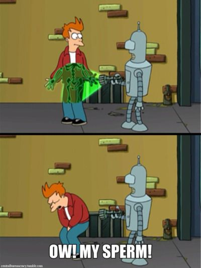 Ow My Sperm Futurama Pinterest Futurama The Simpsons And Memes