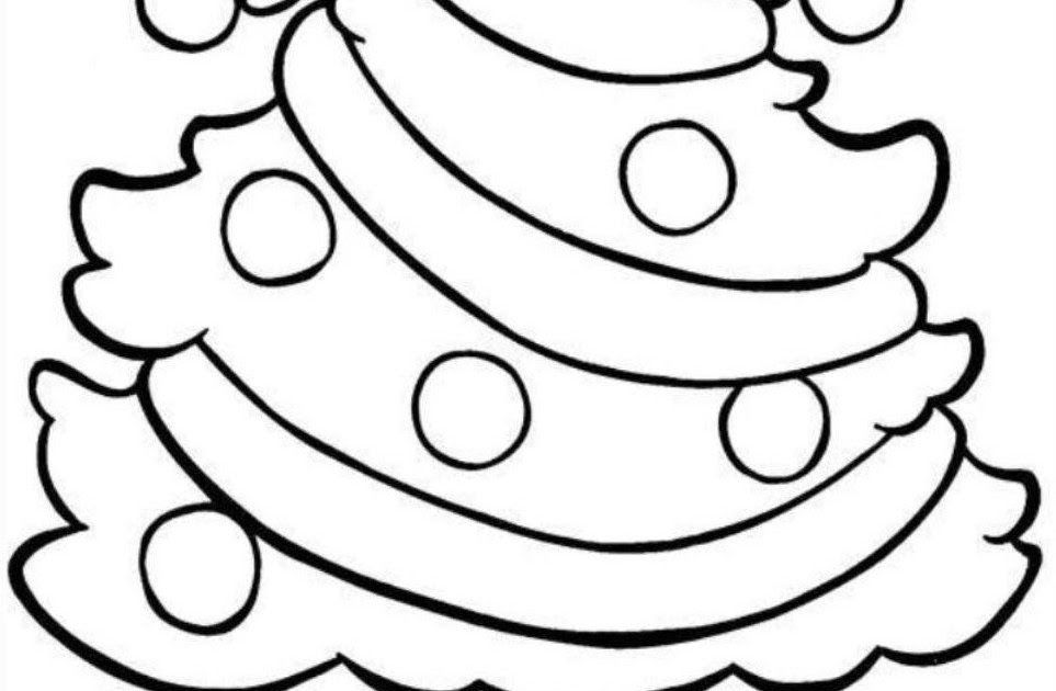 Easy Christmas Coloring Pages Free Christmas Coloring Pages Christm Printable Christmas Coloring Pages Christmas Coloring Sheets Christmas Tree Coloring Page