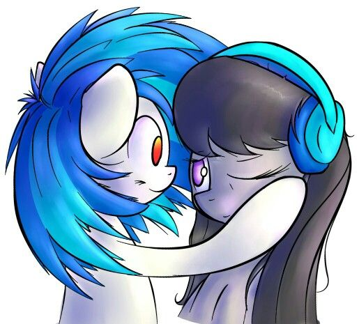 Pin en Vinyl Scratch and Octavia