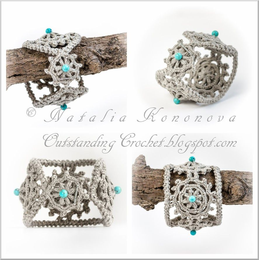 Outstanding Crochet: My new step-by-step crochet jewelry tutorial ...