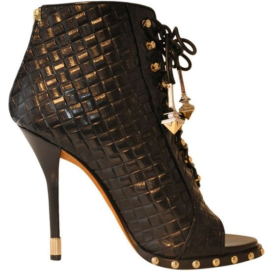 Givenchy Interwoven leather sandal found on Polyvore
