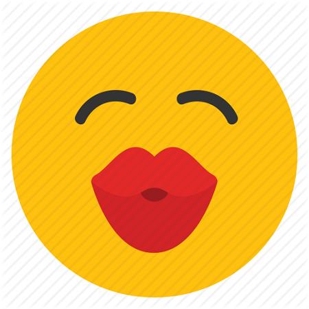 Emoticonos whatsapp kiss emoticons on whatsapp sticker emoticon free