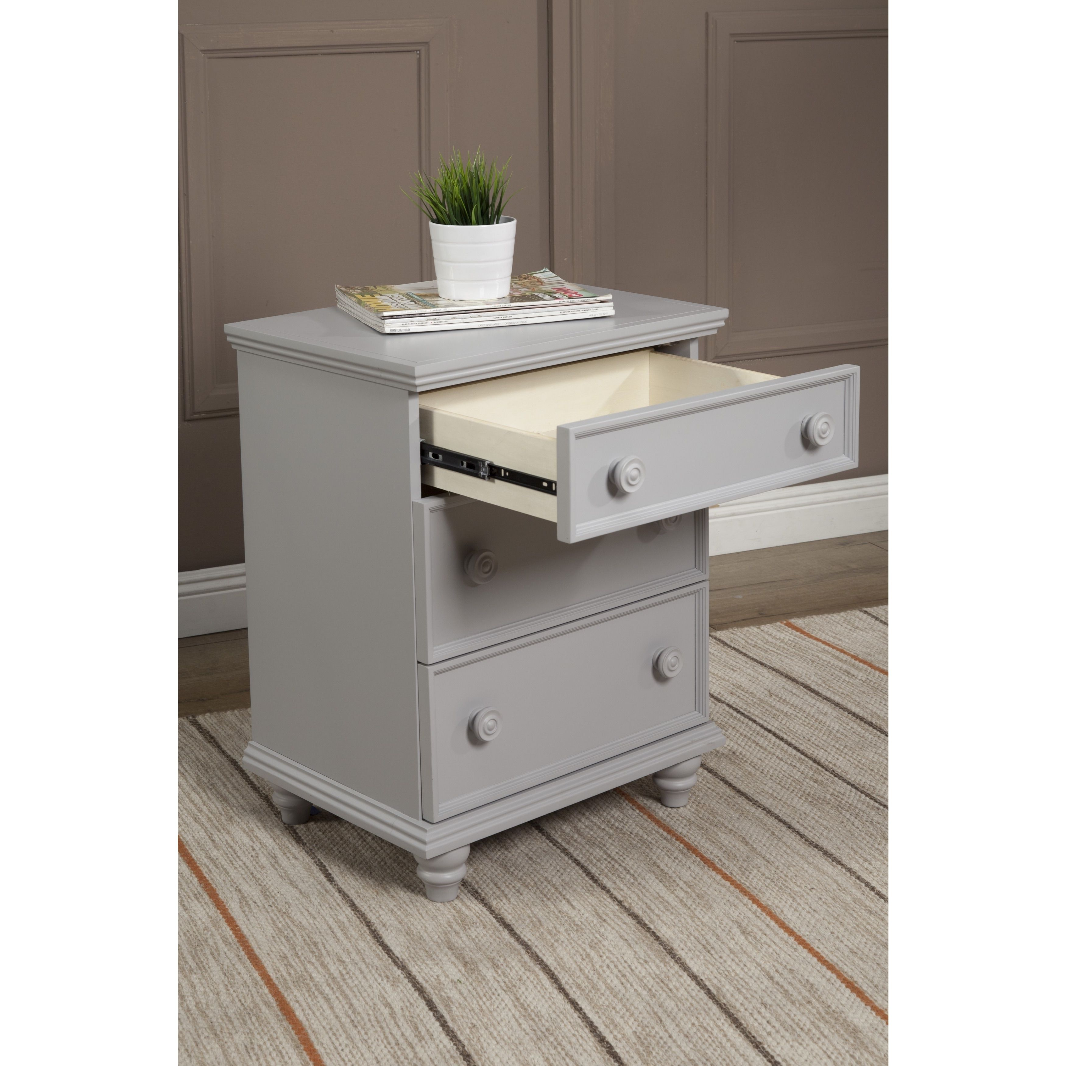 92ee1c127c1 Notting Hill Night Stand 3 Drawer