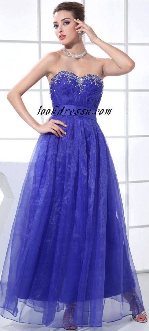 A-line Blue Dress | Teen\'s formal wear | Pinterest