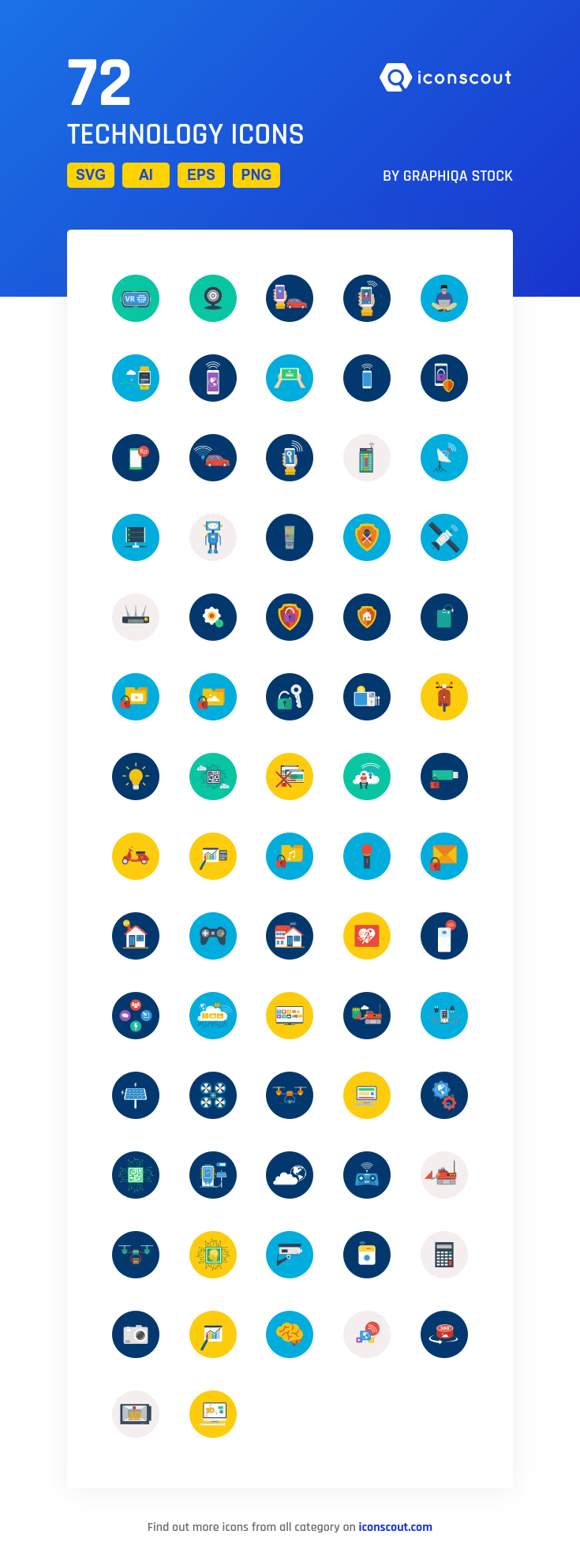 Download Technology Icon pack Available in SVG, PNG, EPS
