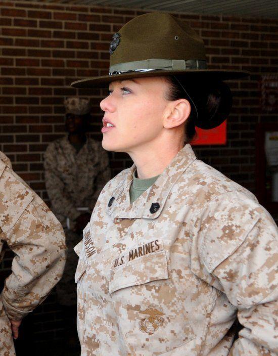 Marine Corps Women Drill Instructors | Marine Drill