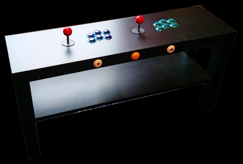 Pik3a Retro Gaming Table Mk Ii Diy Arcade Cabinet Arcade Stick Retro Arcade [ 900 x 1330 Pixel ]