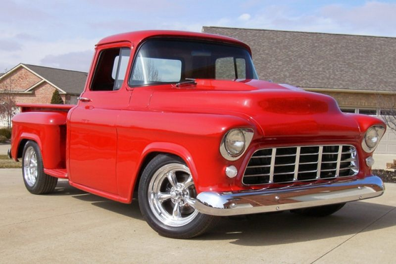 1955 Chevy Truck Chevrolet 1955 Pickup Photos Classic Cars