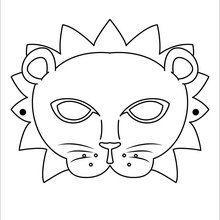 lion mask crafting pinterest lion mask mask template and lion
