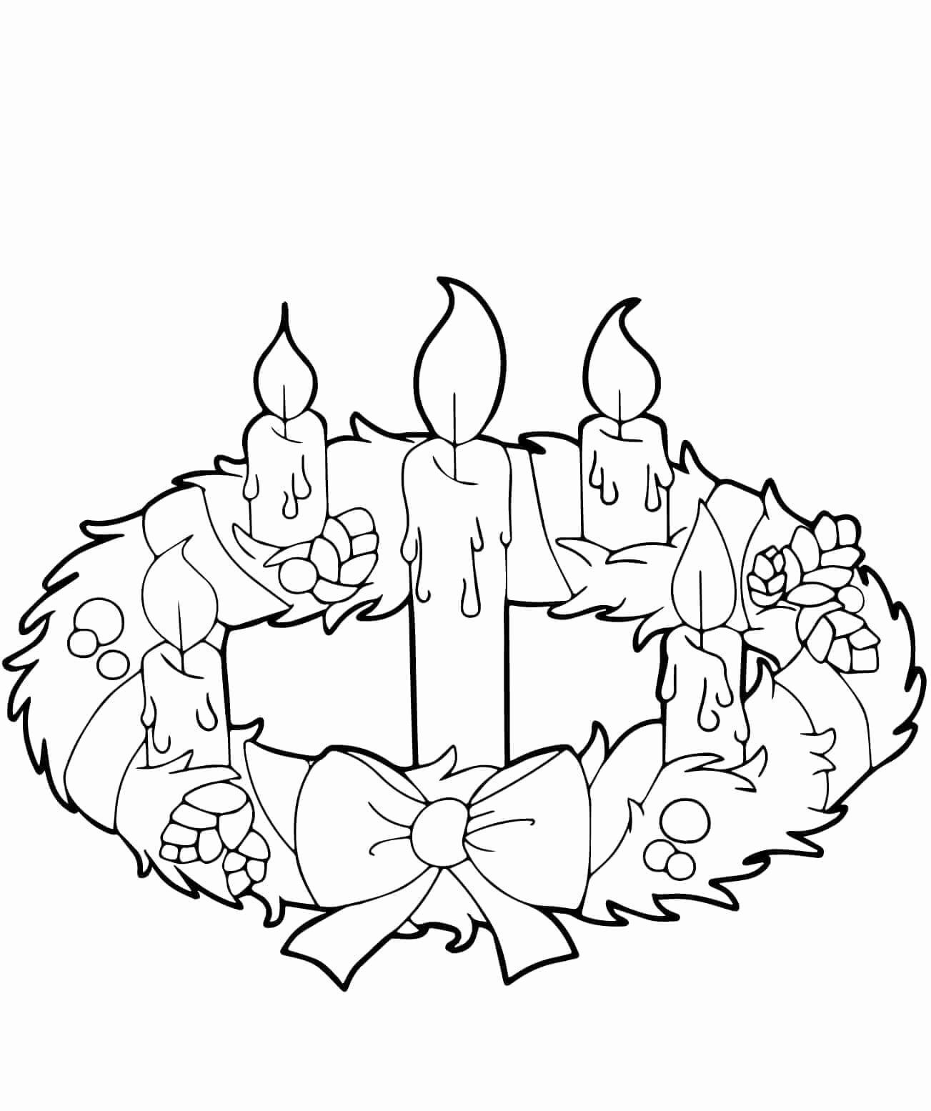 Advent Wreath Coloring Page Catholic Beautiful 30 Free Christmas Wreath Coloring Pages Prin Advent Coloring Advent Coloring Sheets Coloring Pages Inspirational