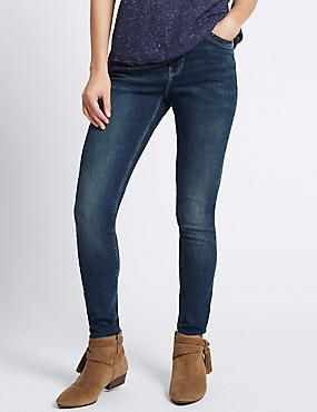 Super Skinny Leg Jeans #denim #jean #jeans #women #woman #fashion #style #marksandspencer #kadın #kot