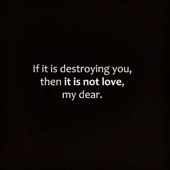 It's not love.