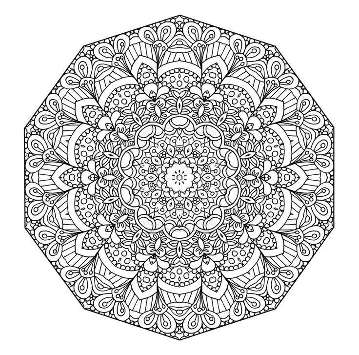 Coloriage Mandala à Imprimer Dans 11 Coloriages De Mandalas Pour