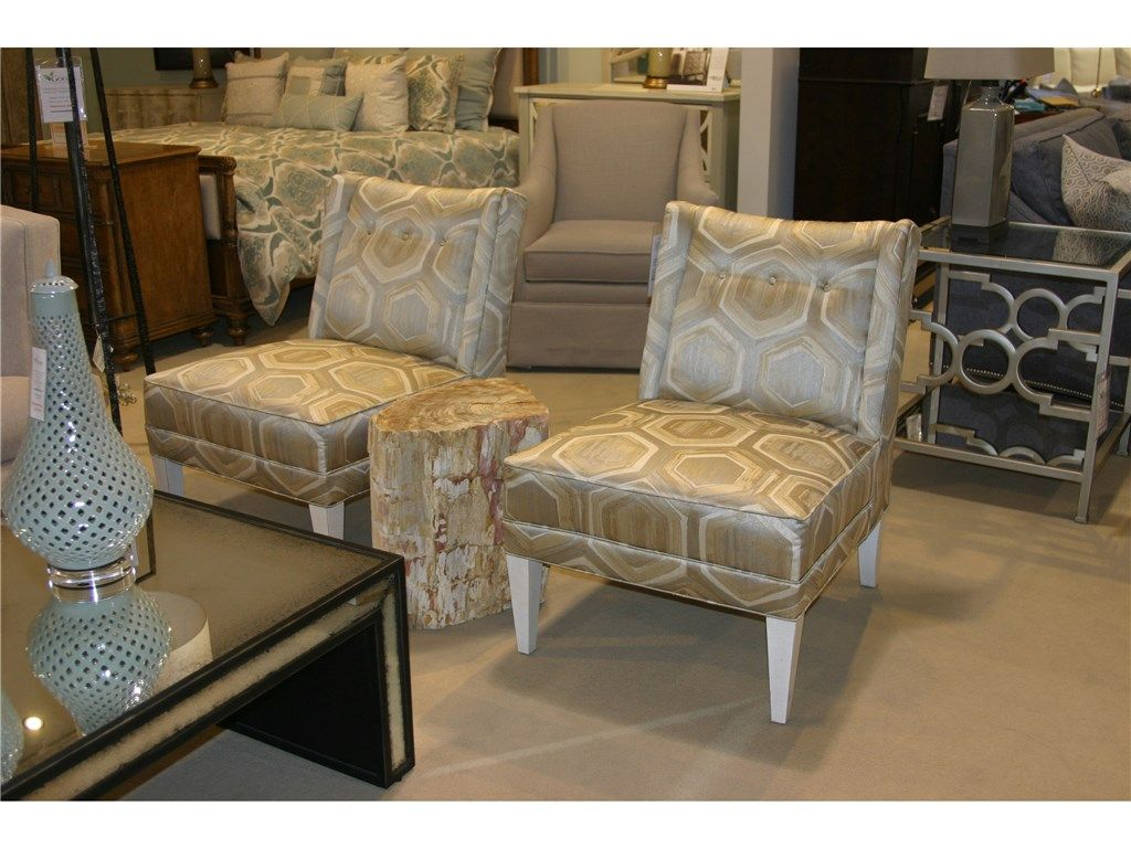 Attractive Shop For Goods Furniture Outlet   Charlotte Studio Essentials Armless Chairs  By Century Furniture, ESN242