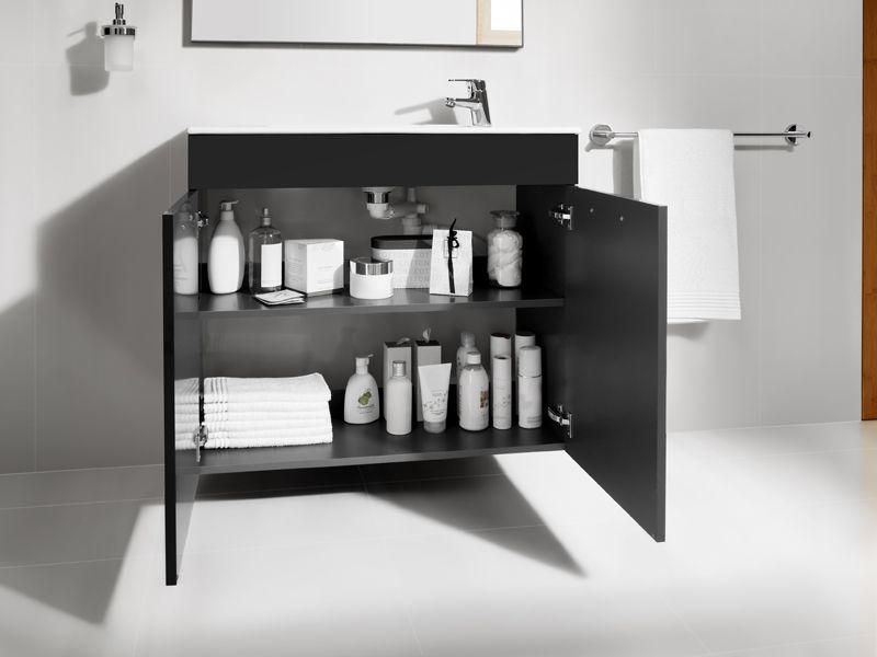 roca meuble de salle de bain debba avec siphon gain de place aaa corinne lienhart bathrooms rp. Black Bedroom Furniture Sets. Home Design Ideas