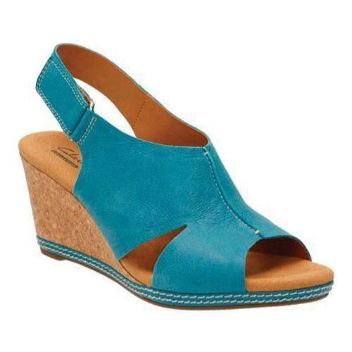 Women's Clarks Helio Float Wedge Sandal