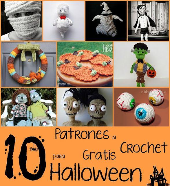 10 Patrones a Crochet para Halloween Gratis | Amigurumi Patterns ...