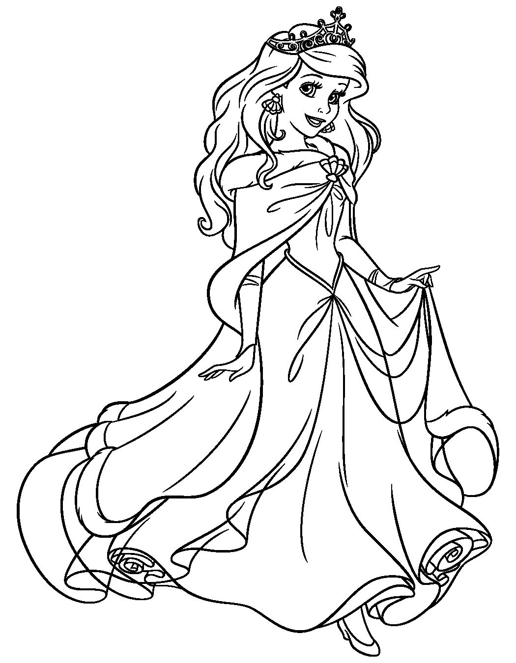 Disney Princess Ariel Coloring Pages Inspirational Pin By Nal Nal On Colouring In 2020 Ariel Coloring Pages Mermaid Coloring Pages Mermaid Coloring
