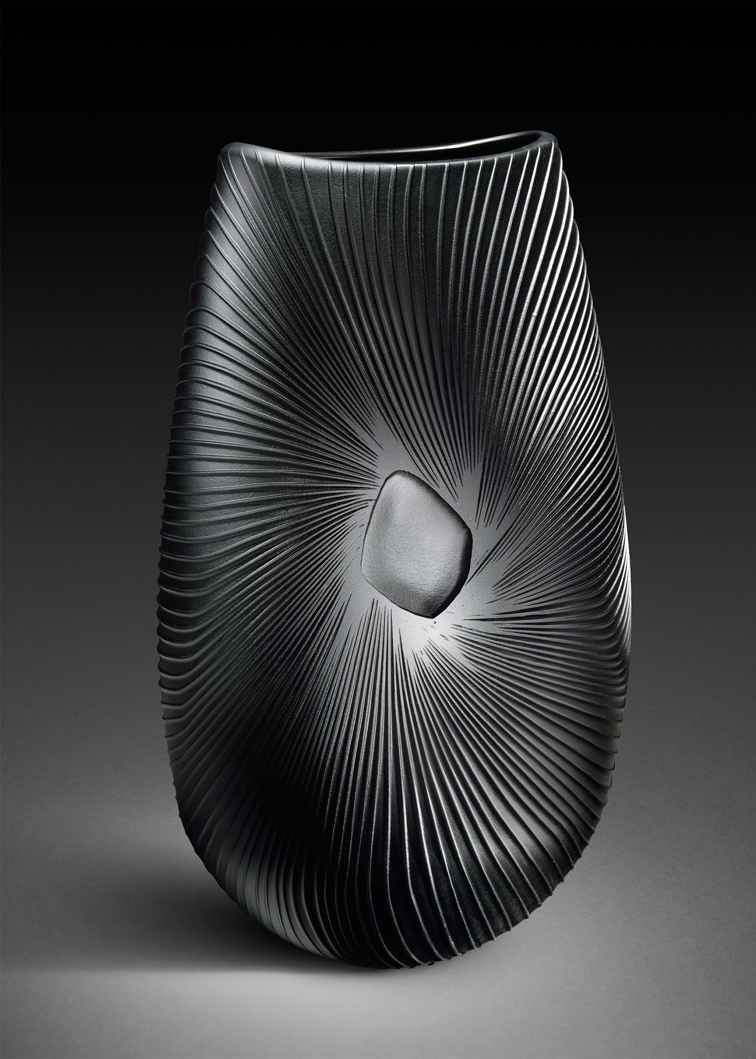 Armelle Bouchet O Neill Quot Obscura Quot Blown And Sand Carved Glass 2014 Live Auction Glass