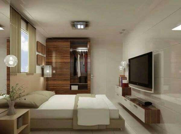 Decorações de quartos pequenos